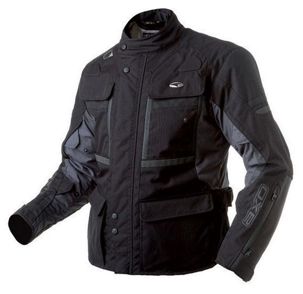 AXO motorcycle jacket waterproof Cayman Black