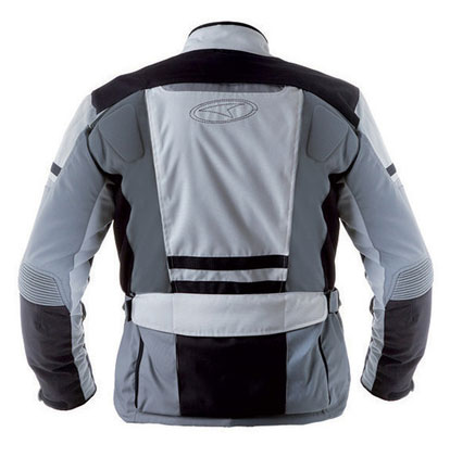 AXO motorcycle jacket waterproof Cayman Grey