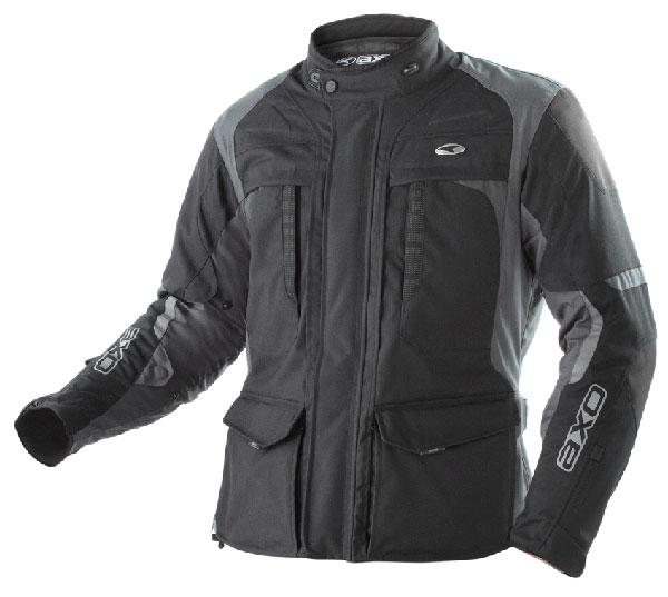 AXO motorcycle jacket waterproof Voyager Black