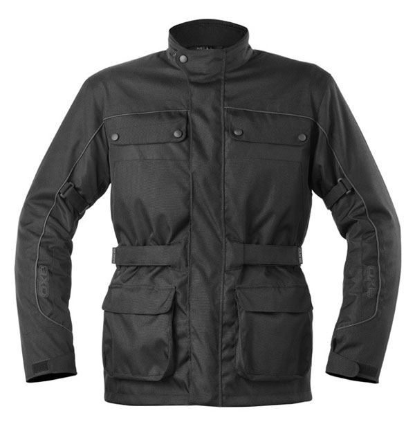 AXO motorcycle jacket waterproof Cardinal Black