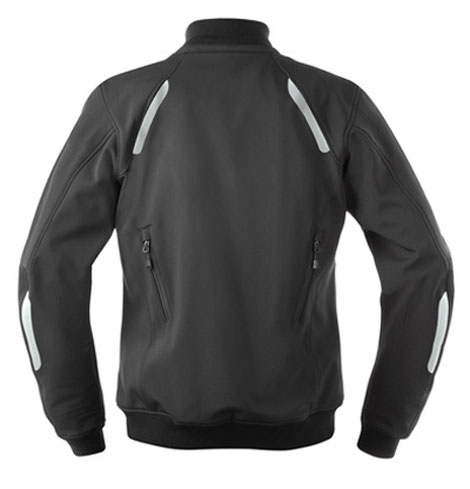 AXO motorcycle jacket windproof softshell Wind Stopper Black
