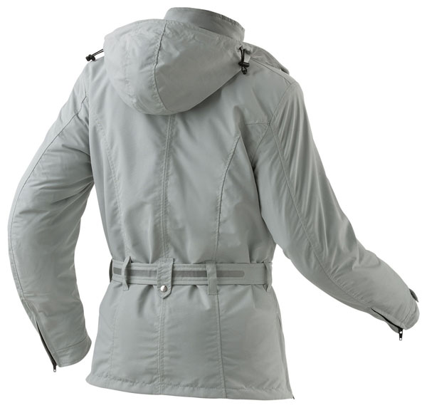 Waterproof motorcycle jacket women AXO Madison Lady Ice
