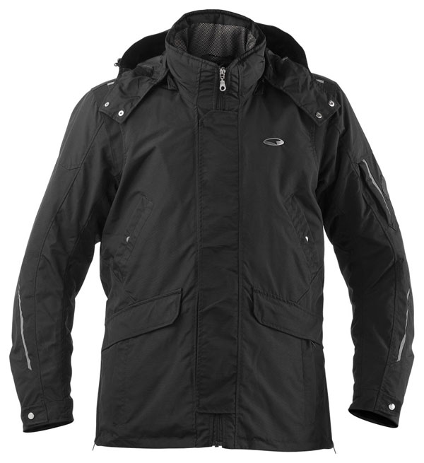 AXO motorcycle jacket waterproof Madison Black