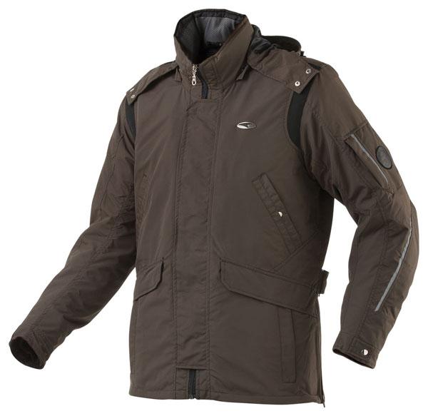 AXO motorcycle jacket waterproof Madison Brown