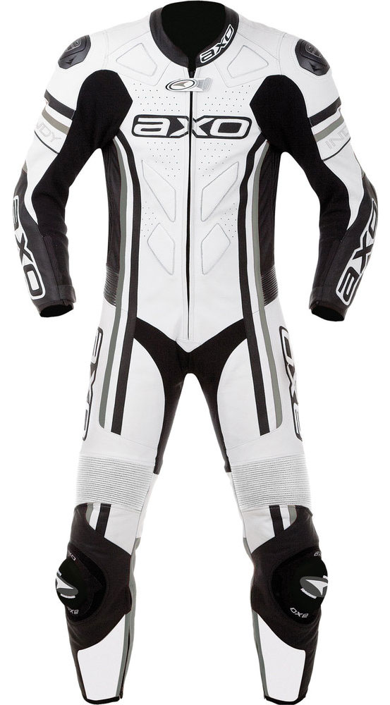 Jumpsuit Leather AXO Indy White