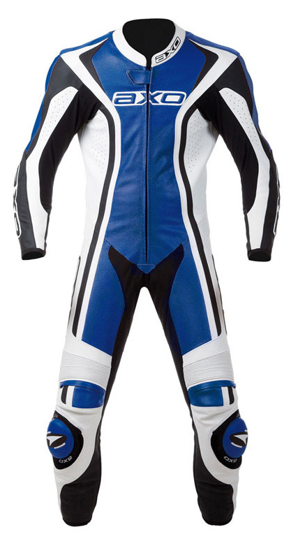 Jumpsuit Leather AXO Talon Evo Blue