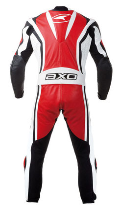 Jumpsuit Leather AXO Talon Evo Red