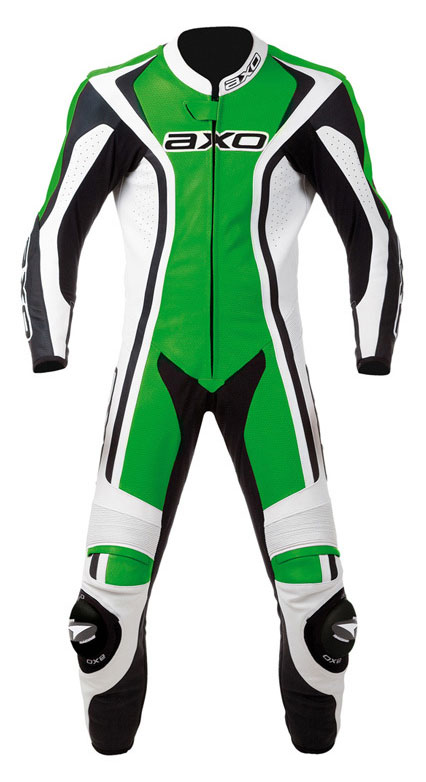 Jumpsuit Leather AXO Talon Evo Green