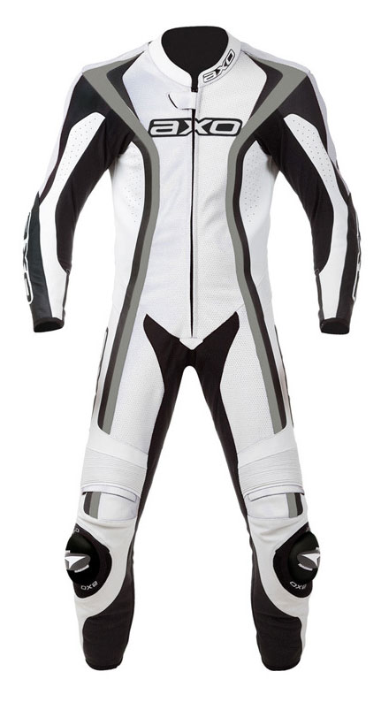 Jumpsuit Leather AXO Talon White Ages