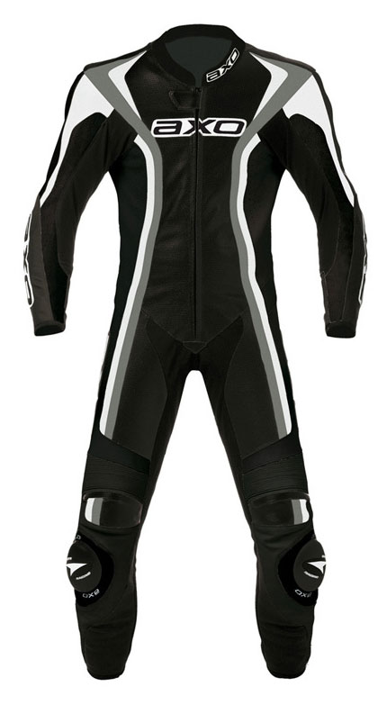 Jumpsuit woman AXO Talon Evo Leather Lady Black