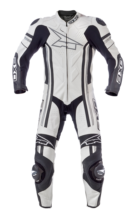 AXO Indy leather suit White