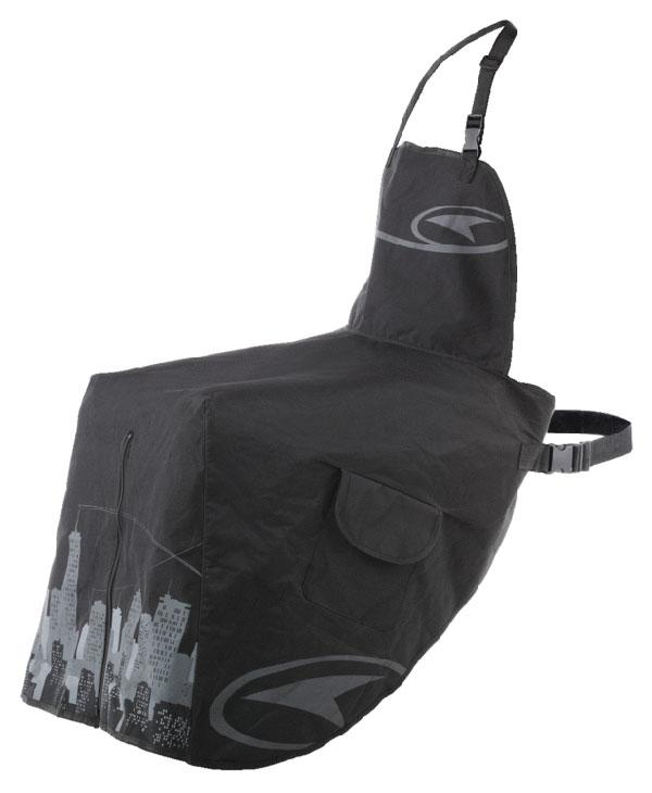 Universal leg cover AXO Black Splash Me