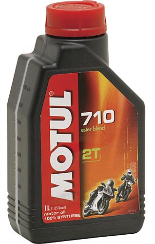 Flacone olio Motul 710 2T 1lt.