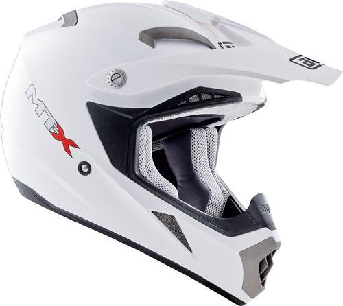 Casco moto cross Agv MT-X Mono bianco