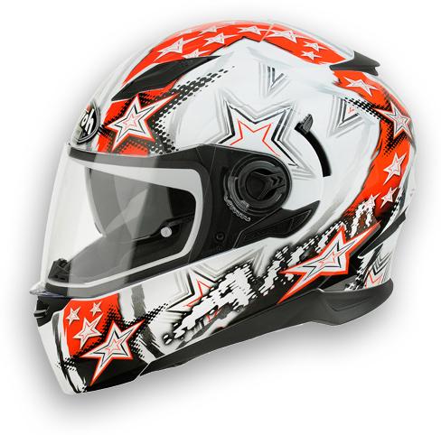 Casco moto Airoh Movement Start rosso