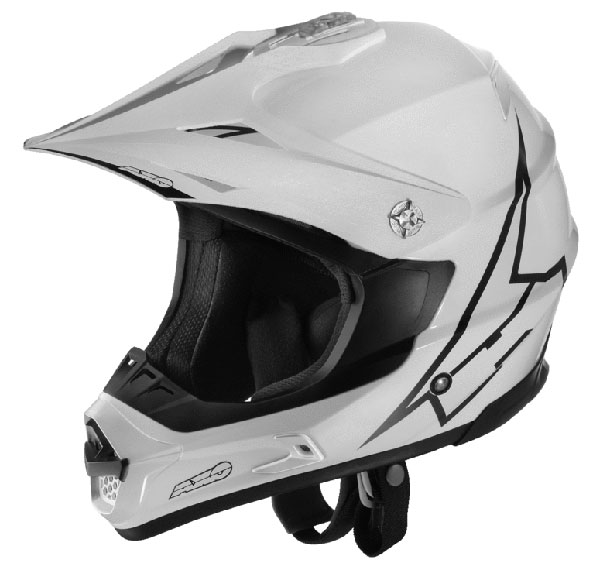 Cross helmet AXO Jump White