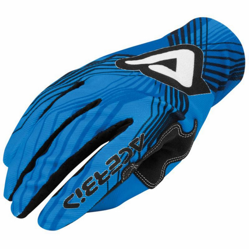 Guanti motocross Acerbis Mx-x3 Blu