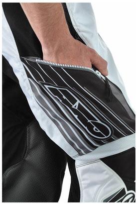 Pantaloni cross AXO Glide Enduro Nero Grigio