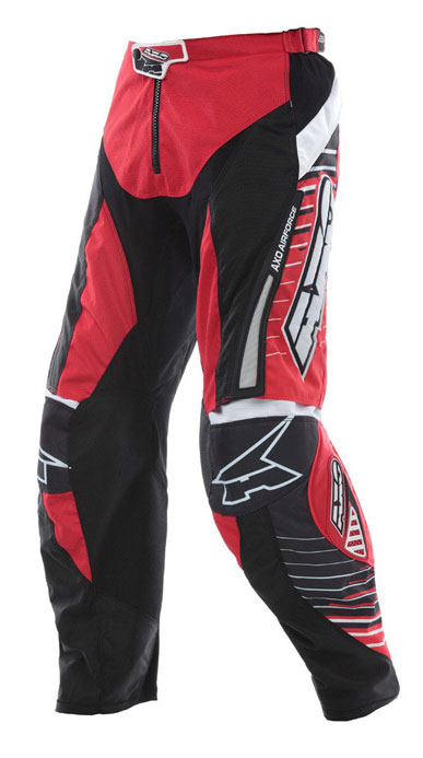 Pants AXO Cross Rail Red Black