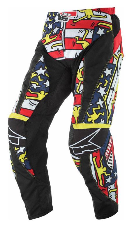 Pantaloni cross AXO Keith Haring USA
