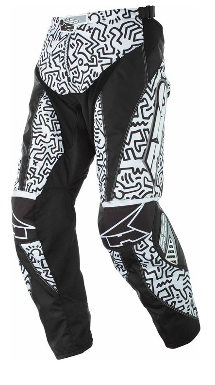 Pants cross AXO Keith Haring White