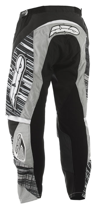 Pants cross AXO Black White Lightning