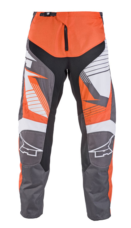AXO SR JR kid cross trousers Grey Orange