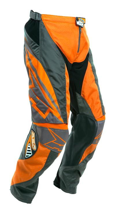 Pantaloni cross AXO Motion 2 Grigio Arancio