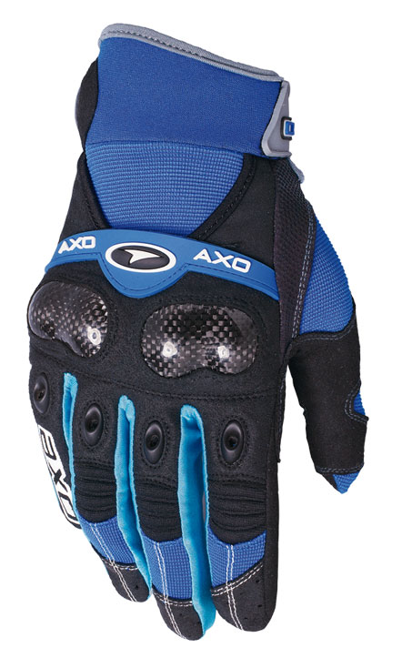 Gloves cross AXO VR-X Blue
