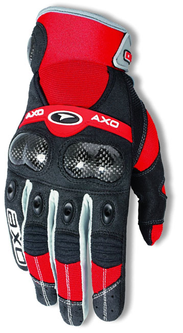 Gloves cross AXO VR-X Red
