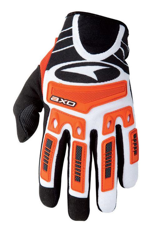 AXO Ride Gloves cross baby JR Orange