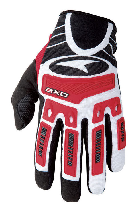 Gloves AXO Ride JR Red cross baby