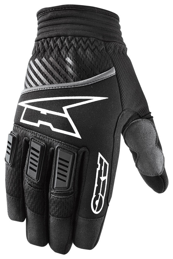 Gloves AXO cross PDLK Black