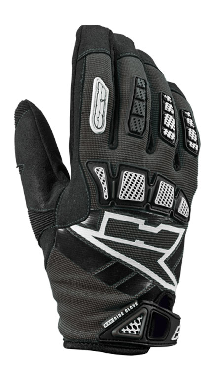 AXO Whip Jr kid cross gloves Black