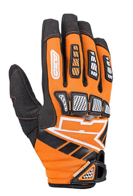 AXO Whip Jr kid cross gloves Orange