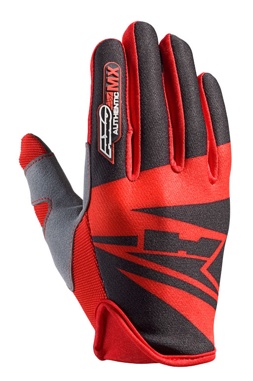 AXO SX cross gloves Black Red