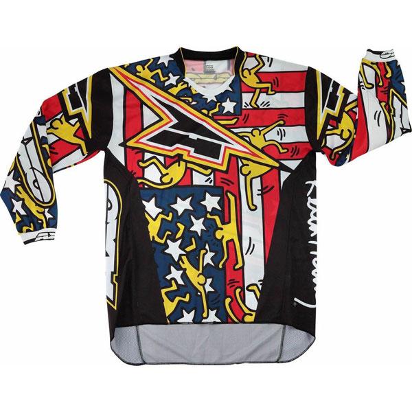 Maglia cross AXO Keith Haring USA
