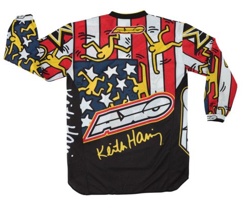 Jersey cross AXO Keith Haring USA