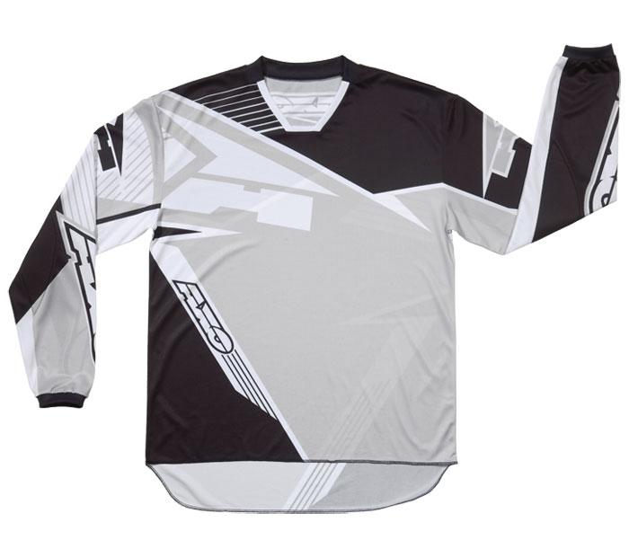 AXO SR Jr kid cross shirt Black Grey