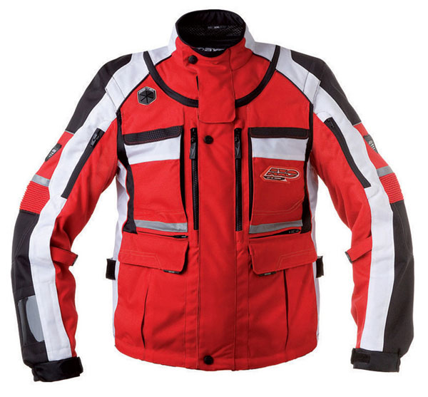 Jacket AXO Stone Red Cross