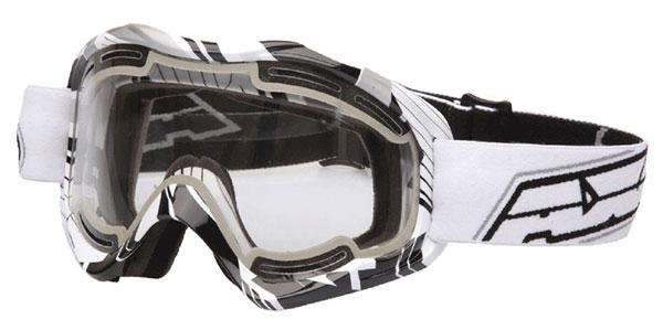 Eyeglasses cross AXO Alien White