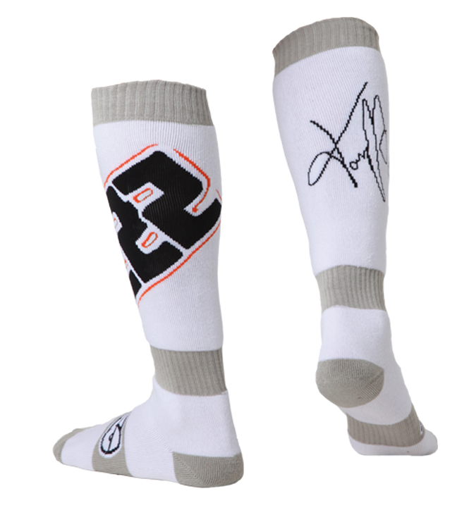 AXO TC222 cross socks White