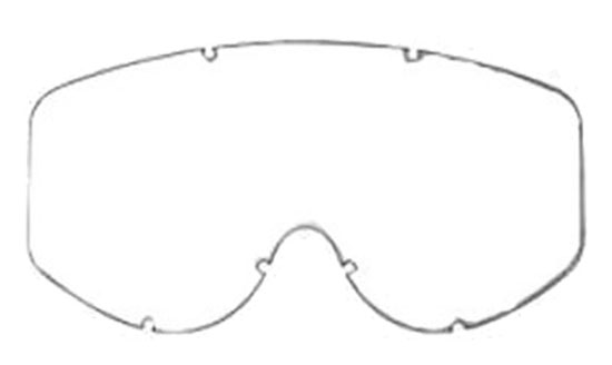 Double lens tinted glasses parts for AXO Alien