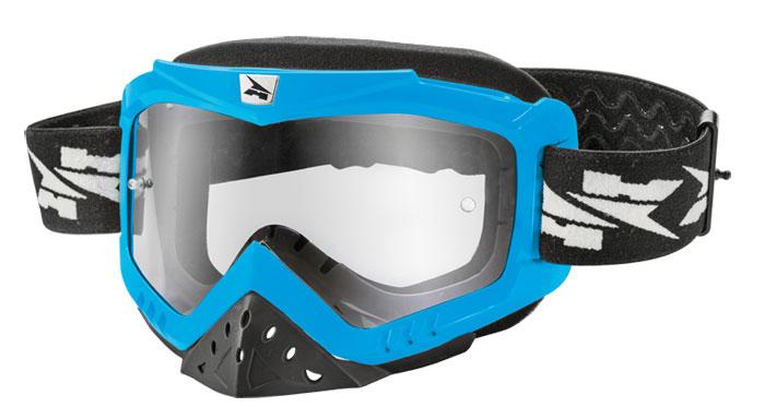 AXO Zenit cross goggles light Blue