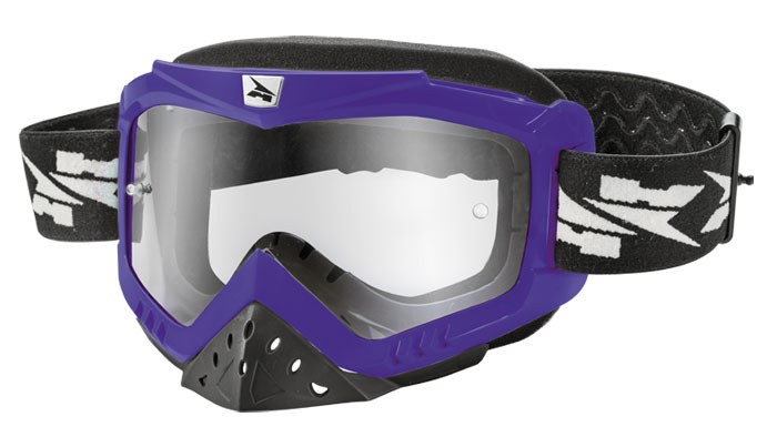 AXO Zenit cross goggles Purple