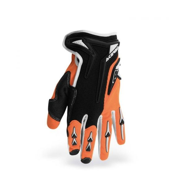 Gloves Acerbis Motocross Mx-x2 Orange