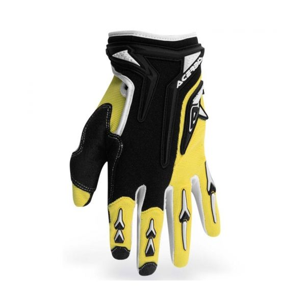 Gloves Acerbis Motocross Mx-x2 Yellow