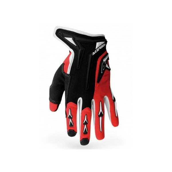 Guanti motocross Acerbis Mx-x2 Rosso