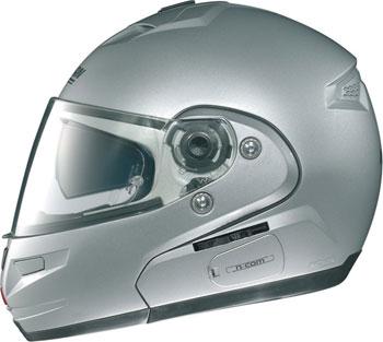 Casco moto modulare Nolan N103 Shade N-Com bianco