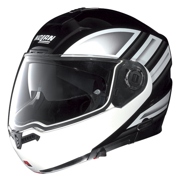Nolan N104 Voyage N-Com open-face helmet metal black